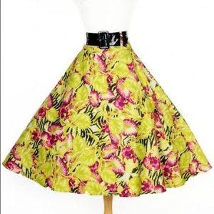 'Hawaiian' Doris Skirt With Pockets!